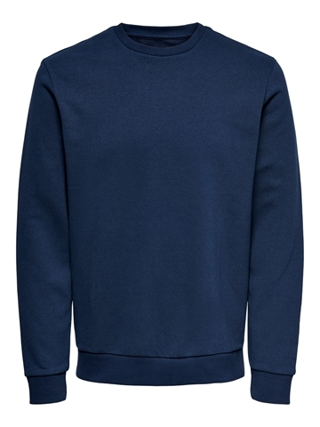ONLY & SONS Ceres life crewneck - Dress Blue