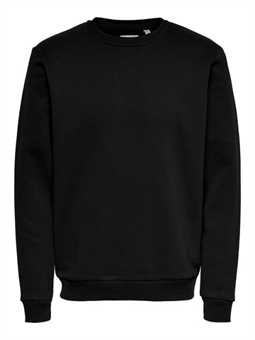 ONLY & SONS Ceres life crewneck - Black