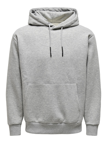 ONLY & SONS Ceres life Hoodie sweat - Light Grey Melange