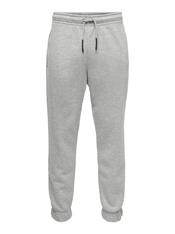 ONLY & SONS Ceres life sweat pants - Light Grey Melange