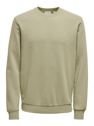 ONLY & SONS Ceres life crewneck - Chinchilla