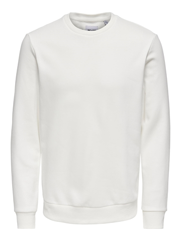 ONLY & SONS Ceres Life crewneck - White