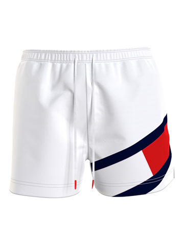 Tommy Hilfiger Medium Drawstring swimshorts - White