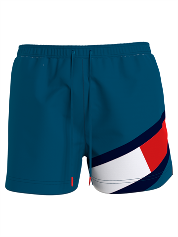 Tommy Hilfiger Medium Drawstring swimshorts - Marina Blue