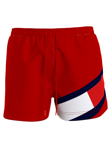 Tommy Hilfiger Medium Drawstring swimshorts - Primary Red
